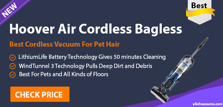 Hoover Air Cordless Bagless handheld vacuums
