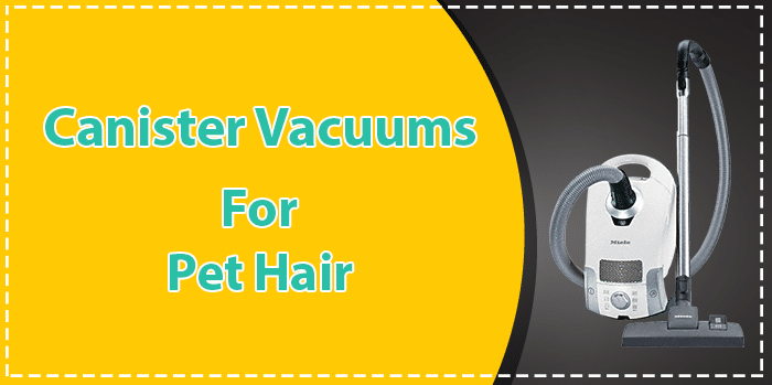 Canister Vacuums for pet hair