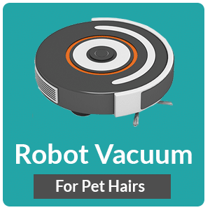 best robot vacuums for pet hairs