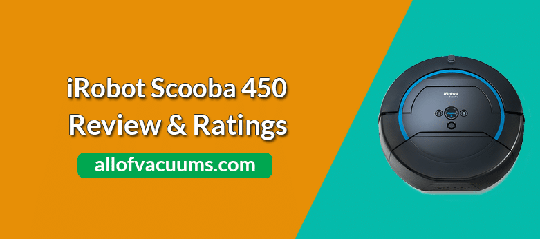 iRobot Scooba 450 Review & Rating