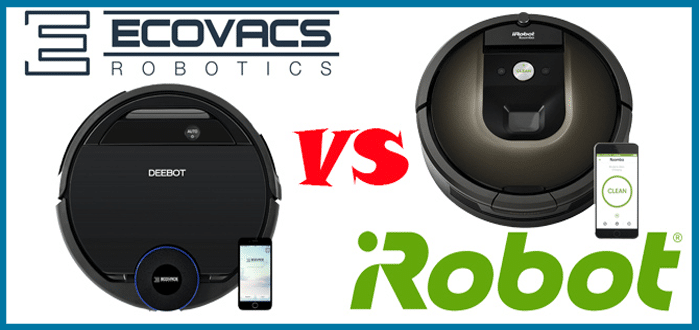 iRobot Roomba Vs. Ecovacs Deebot