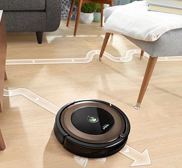 Roomba 890 Maneuverability