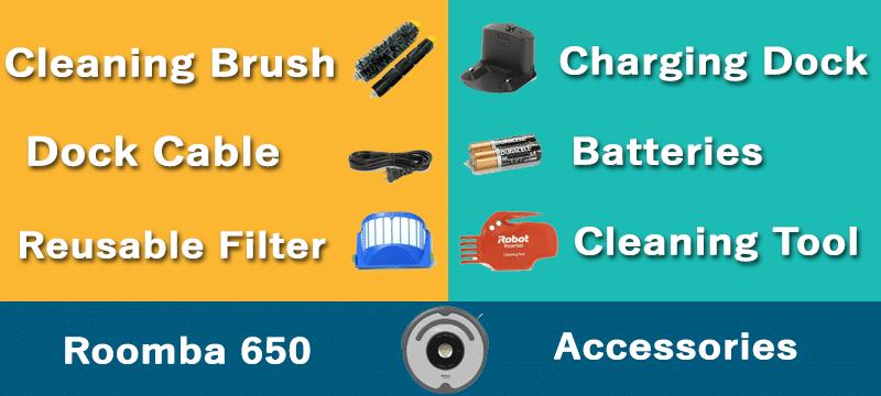 roomba 650 accessories