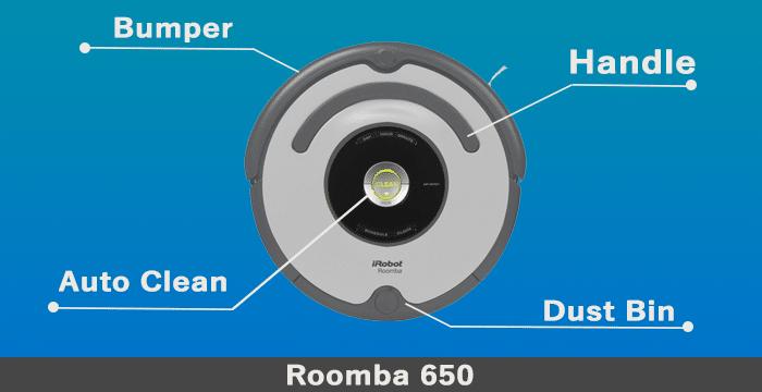 roomba 650 design