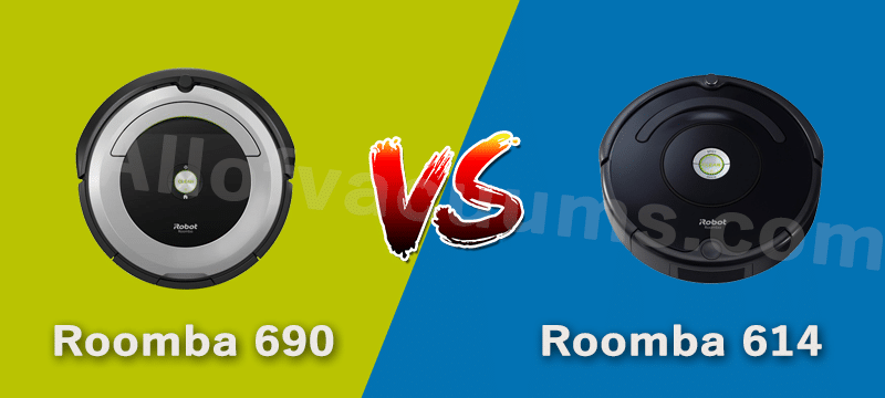 Roomba 614 vs. 690: Differences and Similarities