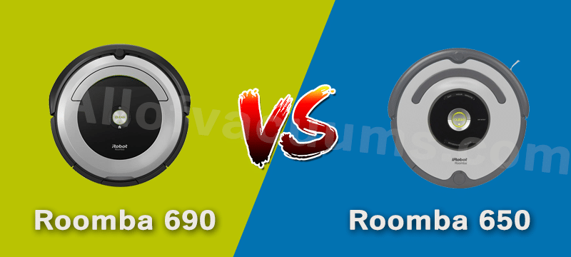 Roomba 650 vs. 690: Differences & Similarities