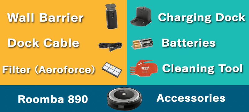 Roomba 890 Accessories