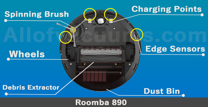 roomba 890 cleaning