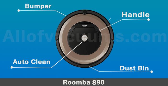 roomba 890 design